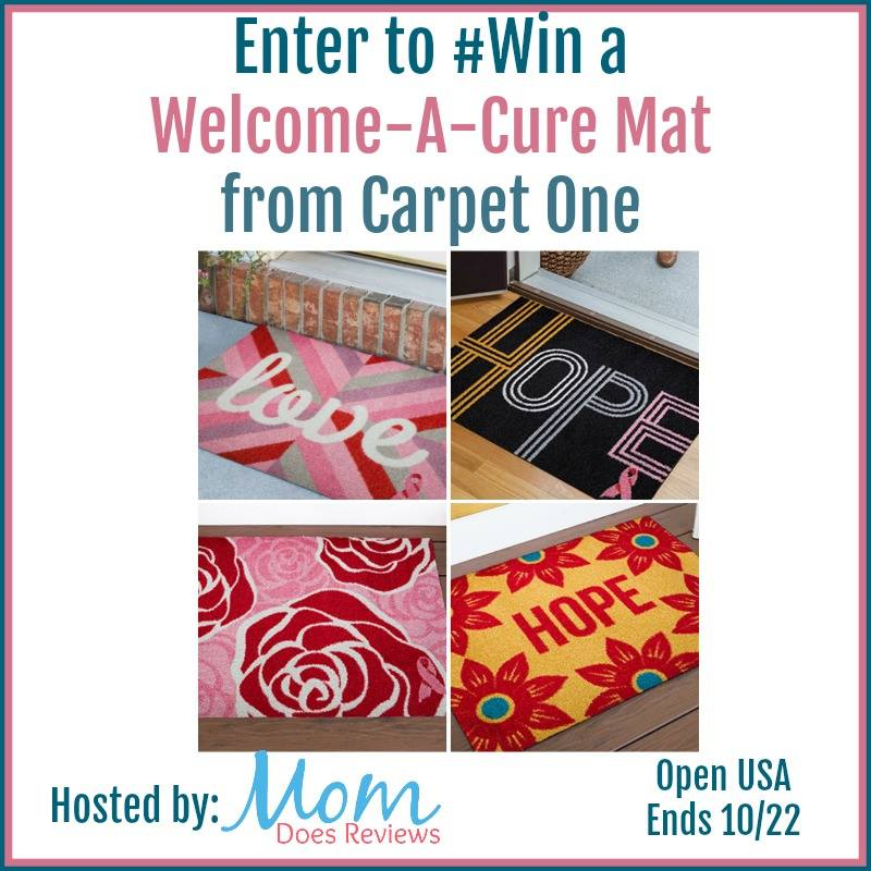 Carpet One Welcome-A-Cure Mat Giveaway