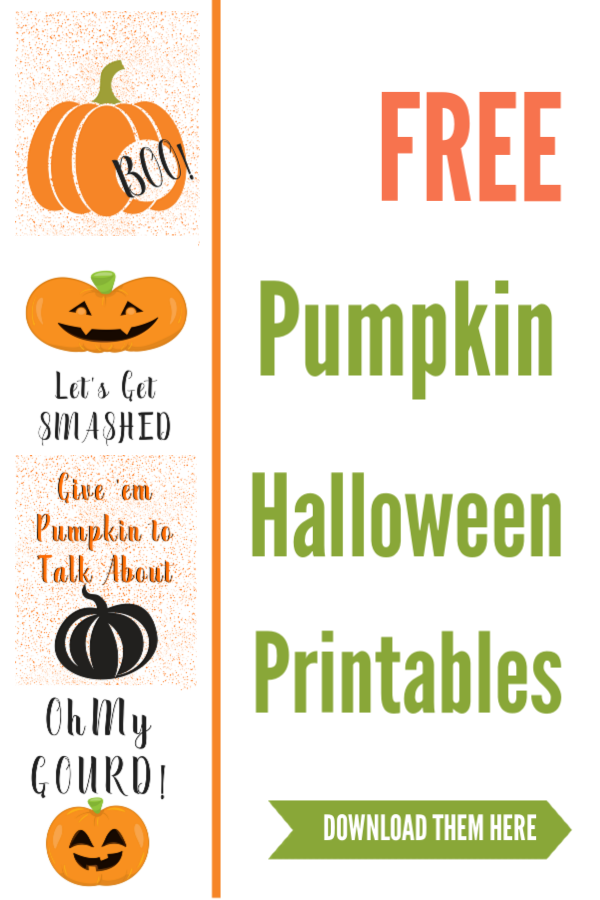 free pumpkin printable pictures