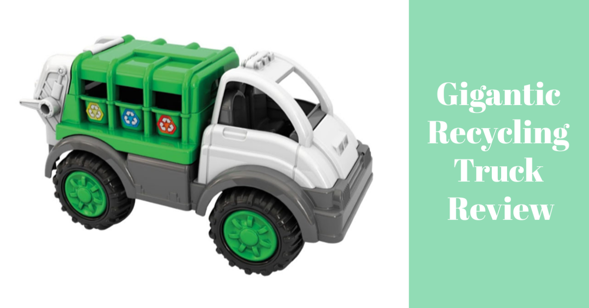Gigantic Recycling Truck Review