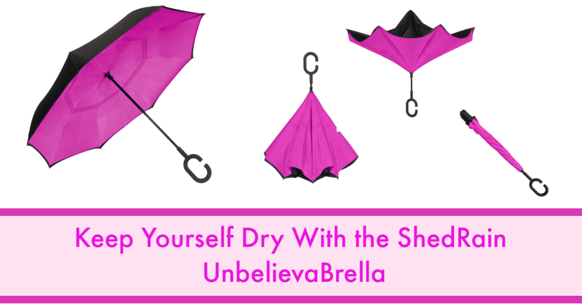 Keep Yourself Dry With the ShedRain UnbelievaBrella