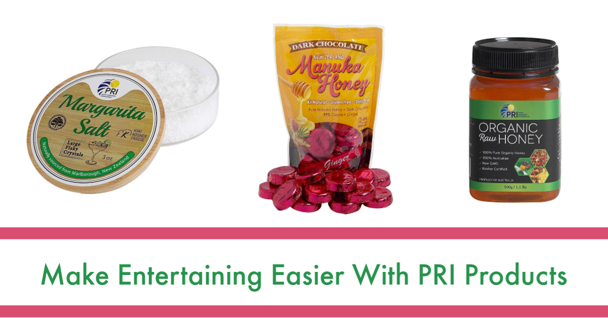 Make Entertaining Easier With PRI Products