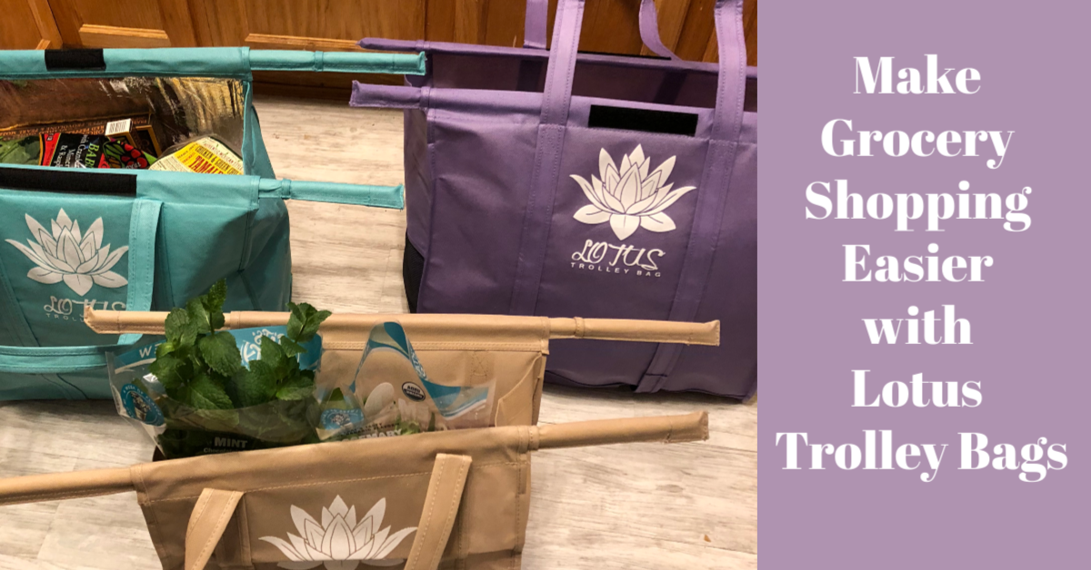 Make Grocery Shopping Easier with Lotus Trolley Bags