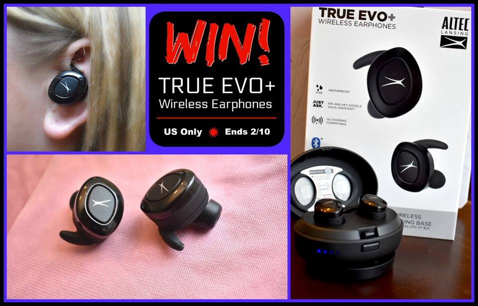 Wish your headphones were more comfortable? Enter to win True Evo+ Wireless Earphones here!