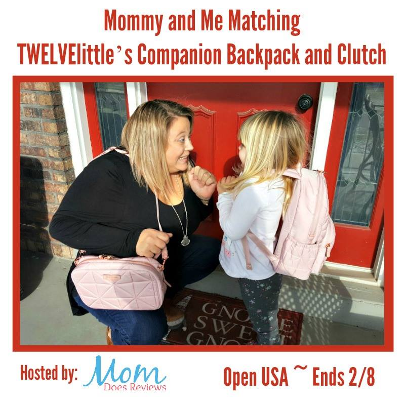 Do you and your daughter love matching Mommy & Me style? Enter to win a TWELVElittle Matching Companion Backpack and Clutch here!