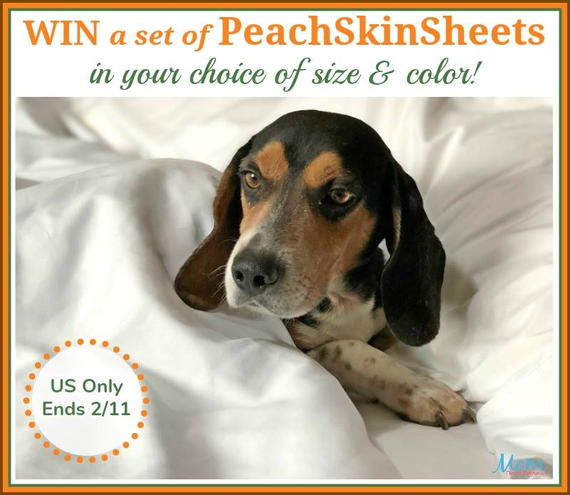 Looking for some ultra-soft thermal control sheets? Enter to win a set of PeachSkinSheets here!