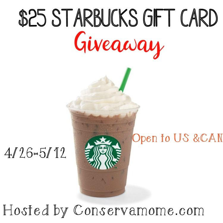 Need a little refueling throughout your day? Enter to win a $25 Starbucks gift card here!