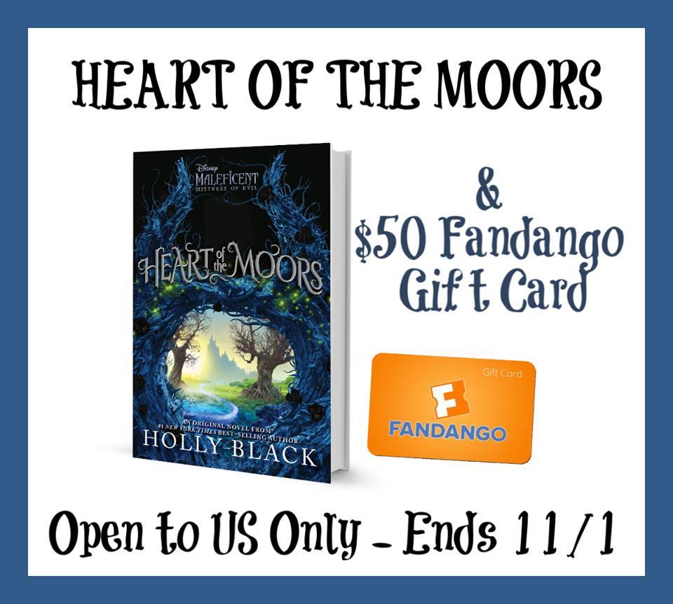 Do you love Disney's Maleficent? Enter to win a copy of Heart of the Moors, plus a $50 Fandango gift card for a Maleficent: Mistress of Evil movie night here!