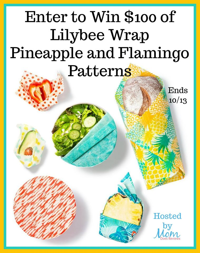 Want to make leftovers and packed lunches more fun? Enter to win $100 worth of eco-friendly Lilybee Reusable Wrap here!