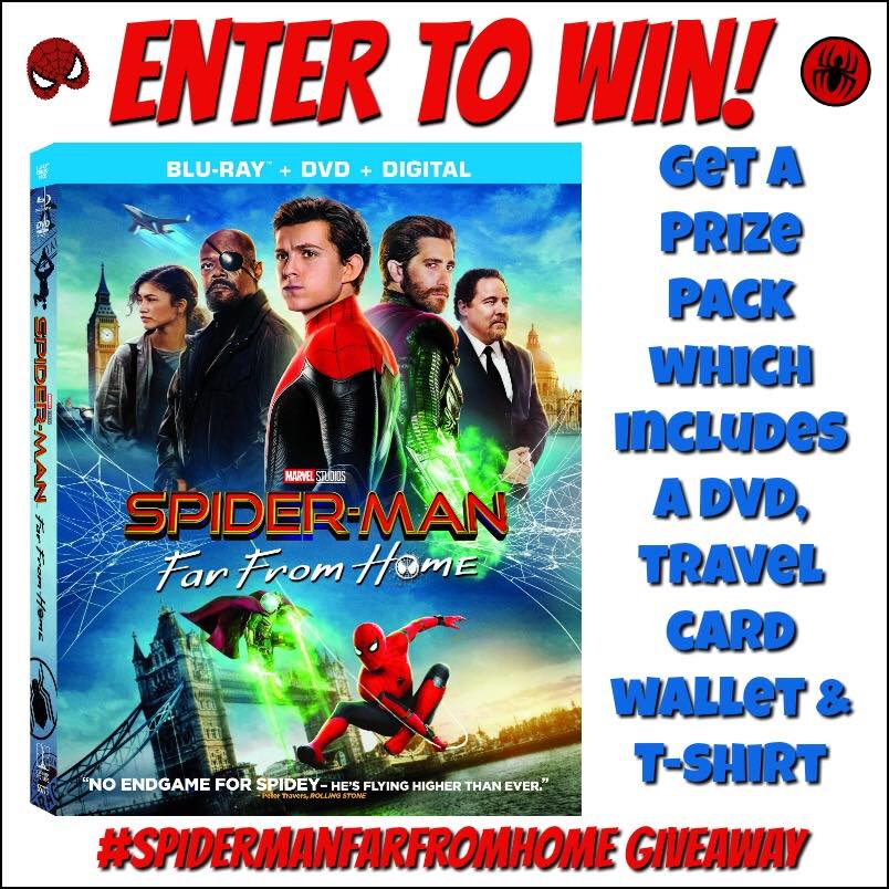 Does your family love superheroes? Enter to win a web-slingingly fun Spider-Man: Far From Home Prize Pack here!