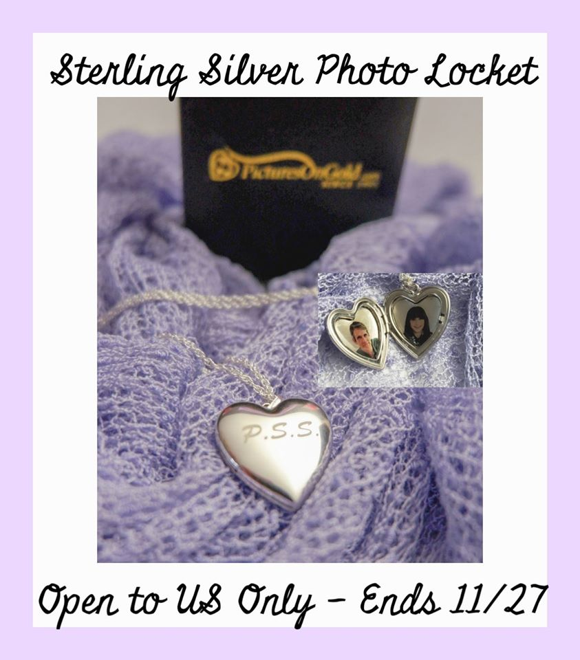 Would you like to share the gift of a beautiful memory as a keepsake item? Enter to win a beautiful sterling silver heart locket here!