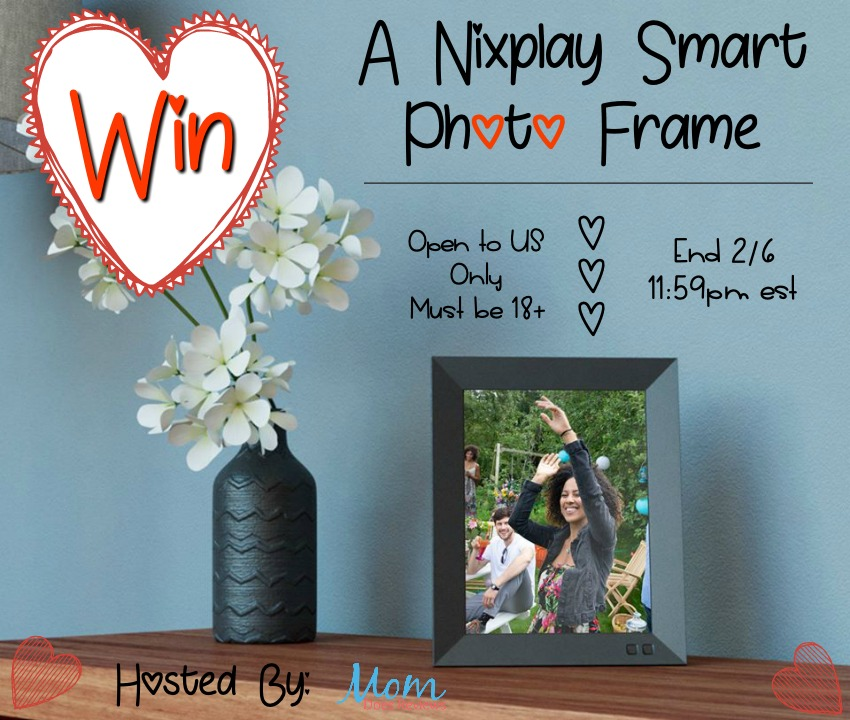 Do you have trouble deciding which treasured photos to display in your home? Enter to win a Nixplay Smart Photo Frame here!