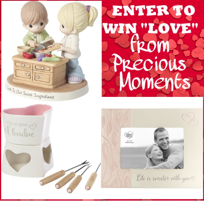 Want to share some Precious Moments with your valentine? Enter to win a Precious Moments Valentine's Prize Pack here!