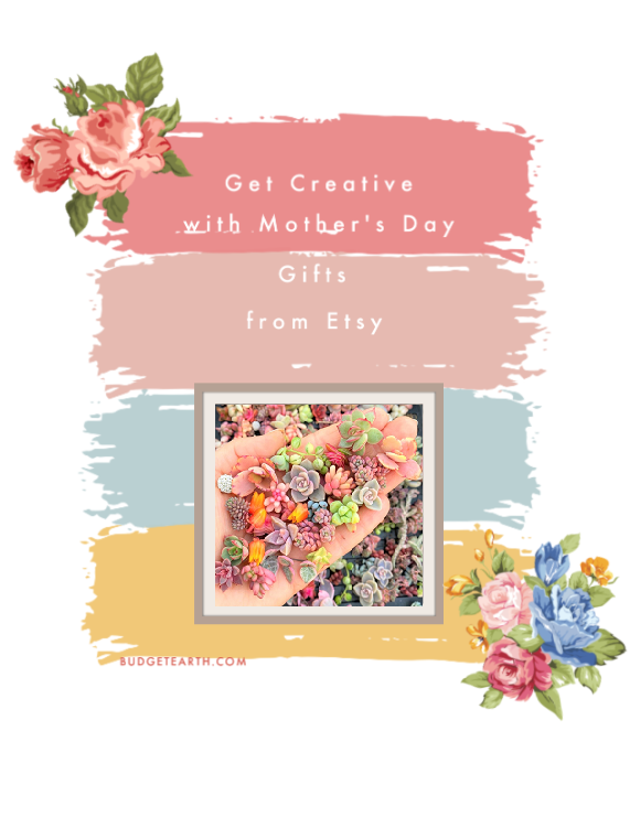 Searching for some unique, personalizable gifts for Mother's Day? Learn how to get more creative with these 5 Mother's Day gift ideas from Etsy!