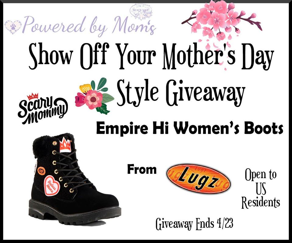 Want to show off your style this Mother's Day? Enter to win 1 pair of Lugz Women's Empire Hi Fur Boots here!