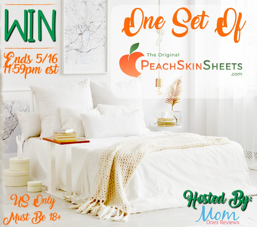 Dreaming of a better night's sleep? Enter to win a set of PeachSkinSheets here!