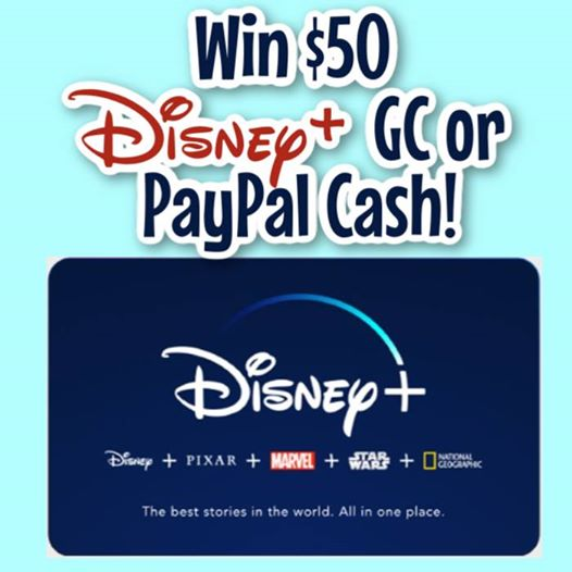Do you miss viewing new movies in theaters? Enter to win a $50 Disney+ gift card or Paypal Cash here!