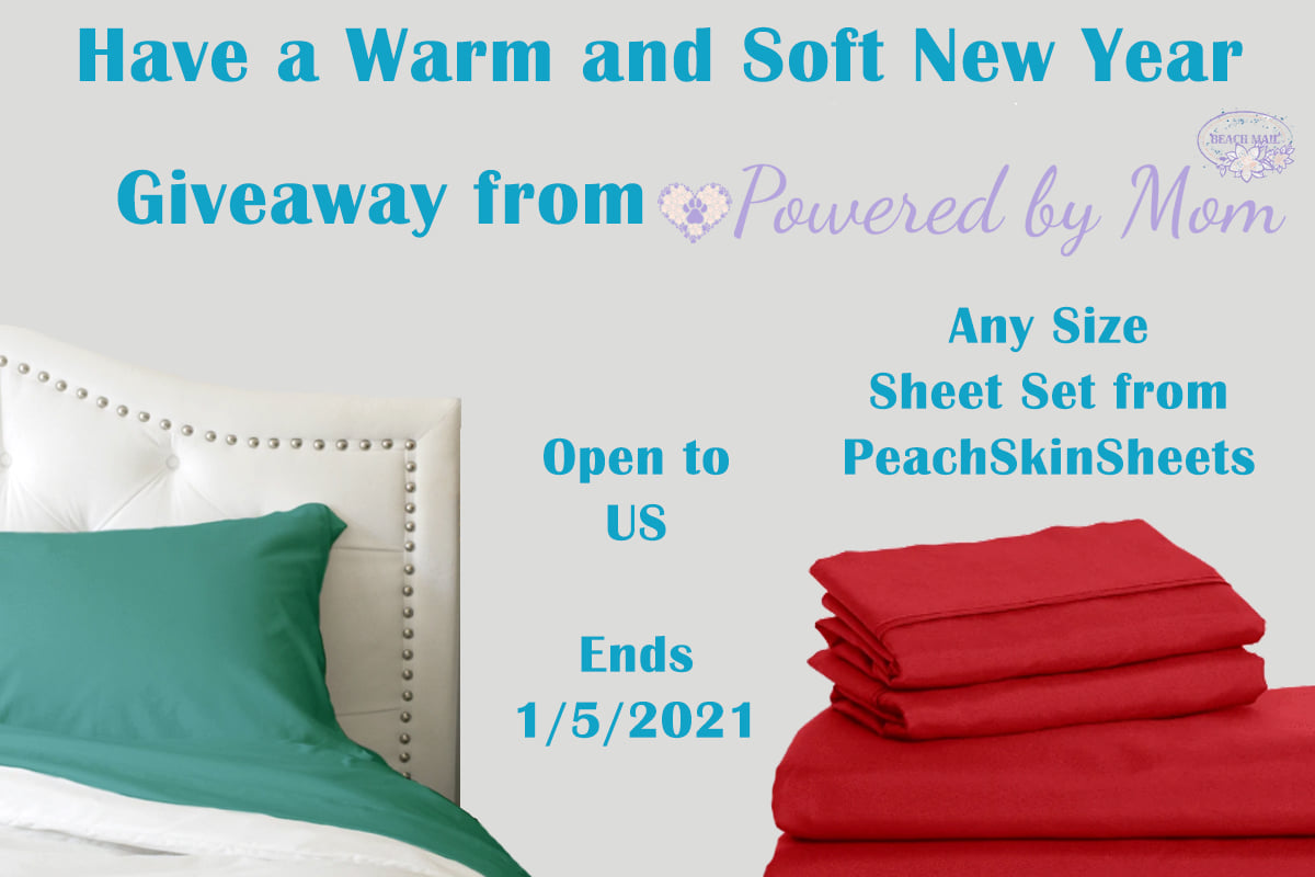 Are you tired of sheets that wrinkle and pill? Enter to win a set of PeachSkinSheets here!