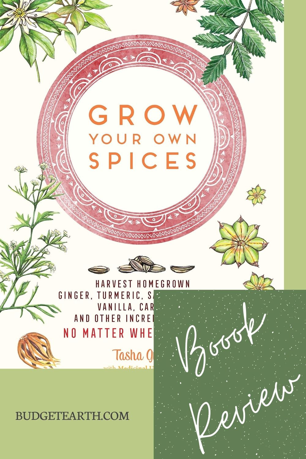 Grow Your Own Spices book cover image