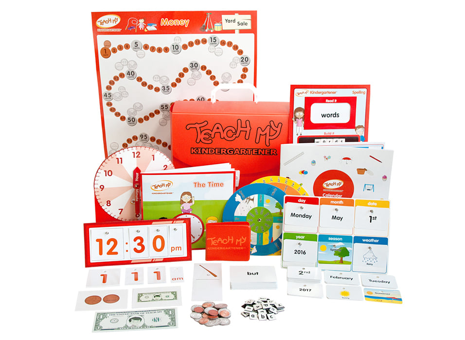 Want to teach your child basic skills like reading, numbers, and spelling? Enter to win a Teach My Learning Kit of your choice here!
